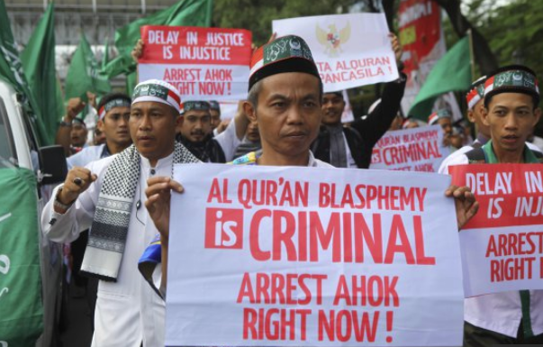 ahok blashphemy indonesia muslims